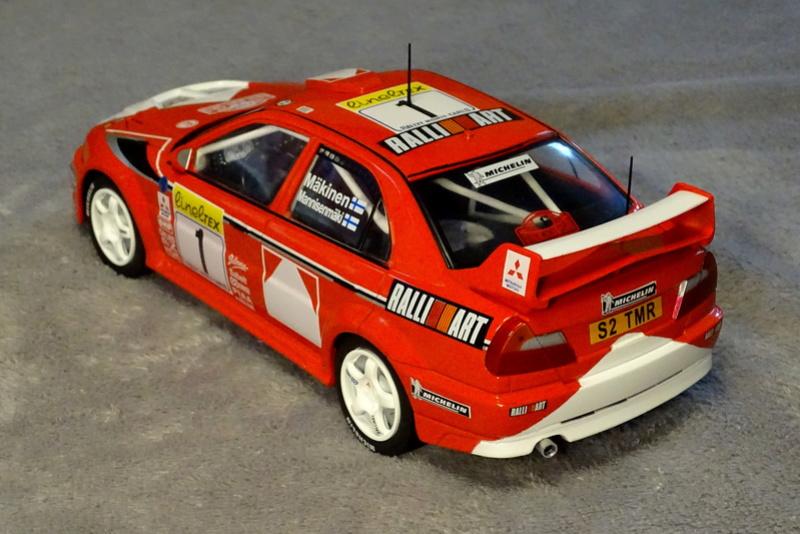 Lancer evo VI Rallye Monte Carlo 1999 Z811