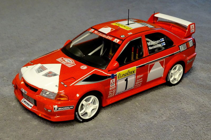 Lancer evo VI Rallye Monte Carlo 1999 Z911