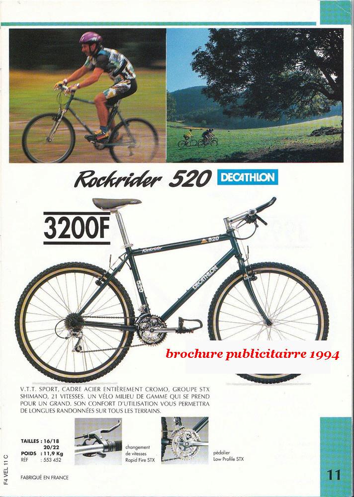 VTT  décathlon ROCKRIDER 520 +- 1994  Chahum10