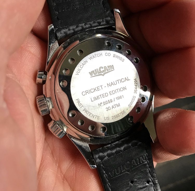 [vends] Vulcain Nautical Heritage 1961 exemplaires Img_8115