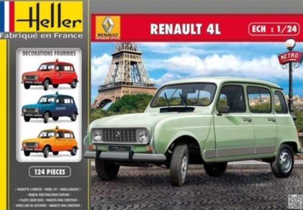 """[1/24] Renault 4L """"TL"""" ref: 80759 Boite_10"""