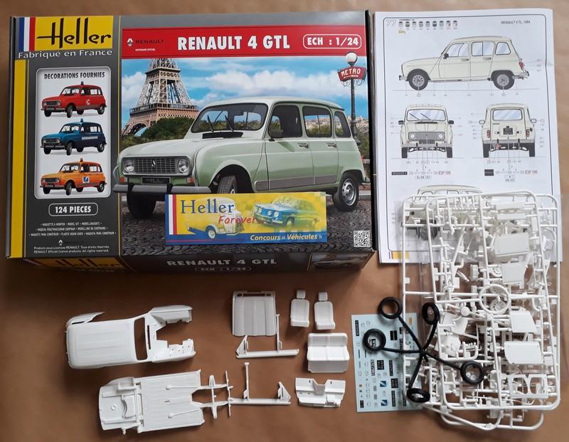 "[1/24] Renault 4L ""TL"" ref: 80759 Prysen11"