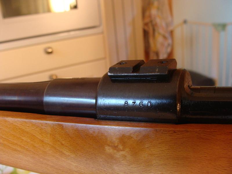 target bisley sur base mauser 98 ..... Dsc07211