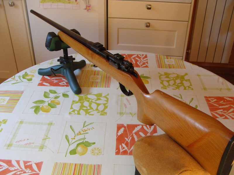 target bisley sur base mauser 98 ..... Dsc07214