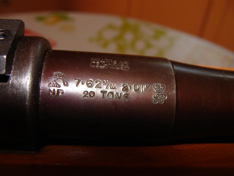 target bisley sur base mauser 98 ..... Dsc07215