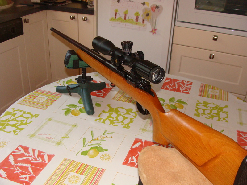 target bisley sur base mauser 98 ..... Dsc07219