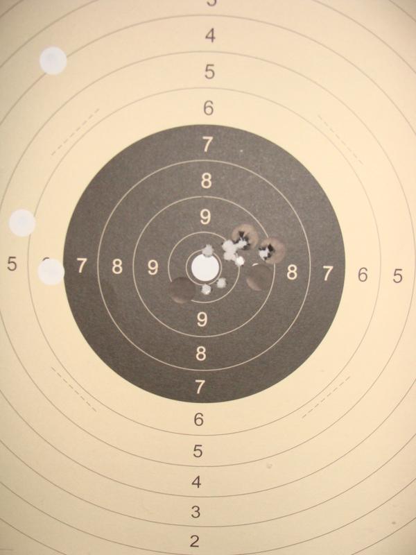 target bisley sur base mauser 98 ..... Dsc07220
