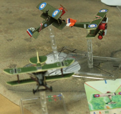 campagne Wings of War mission 9 big dogfight Fokker28