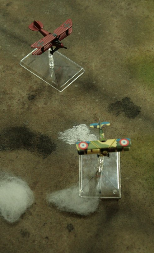 campagne Wings of War mission 9 big dogfight Fokker45