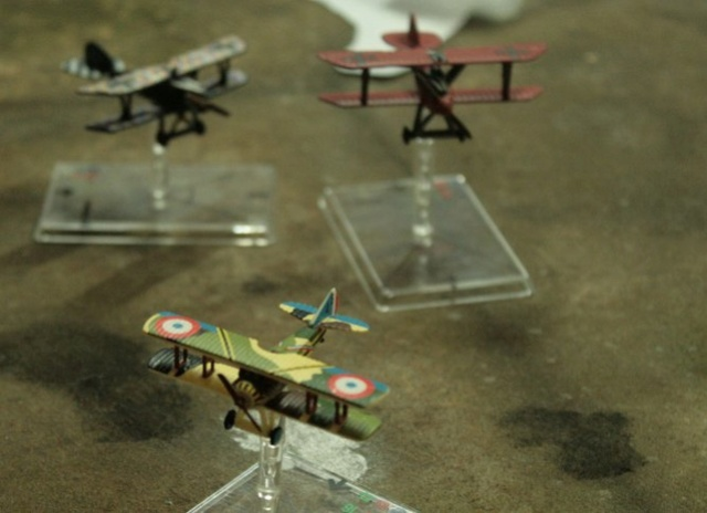 campagne Wings of War mission 9 big dogfight Fokker46