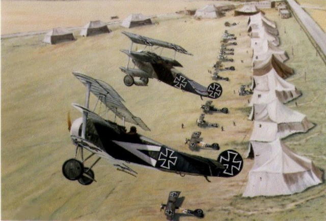 Campagne Wings of War 14/18 Fokker51