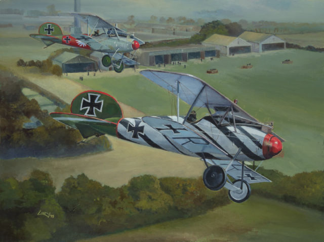 campagne Wings of War mission 9 big dogfight S-l64010