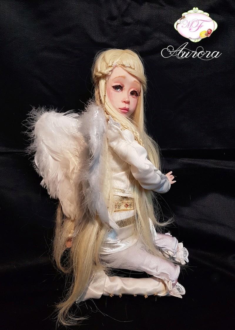 VENTE poupées d'artiste, BJD en polymère faits main -Flora  Aurora13