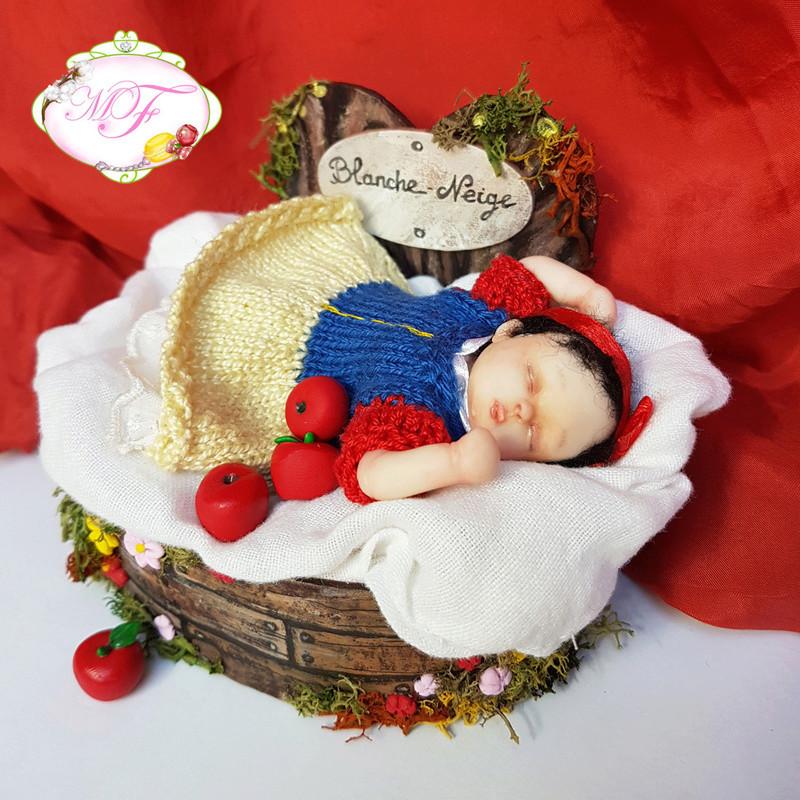 VENTE poupées d'artiste, BJD en polymère faits main -Flora  Blanch10