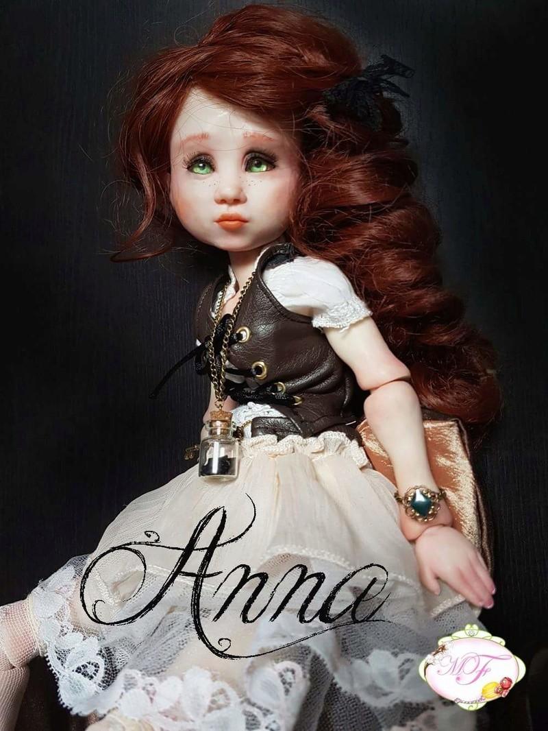VENTE poupées d'artiste, BJD en polymère faits main -Flora  Fb_img10