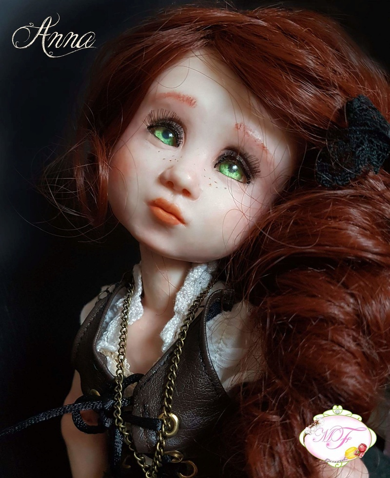VENTE poupées d'artiste, BJD en polymère faits main -Flora  Fb_img11