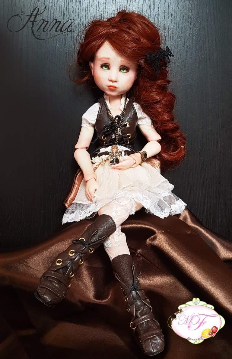 VENTE poupées d'artiste, BJD en polymère faits main -Flora  Fb_img12