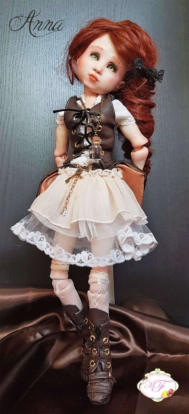 VENTE poupées d'artiste, BJD en polymère faits main -Flora  Fb_img13