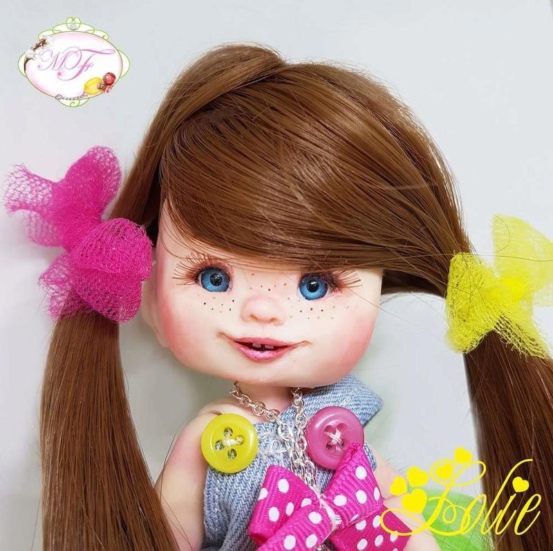 VENTE poupées d'artiste, BJD en polymère faits main -Flora  Fb_img25