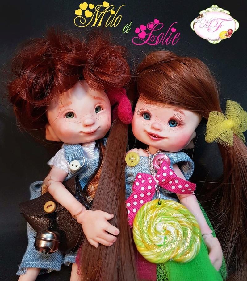 VENTE poupées d'artiste, BJD en polymère faits main -Flora  Fb_img27