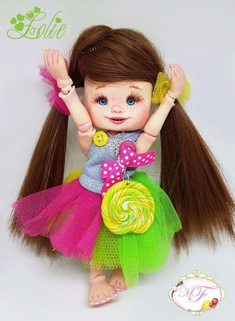 VENTE poupées d'artiste, BJD en polymère faits main -Flora  Fb_img28