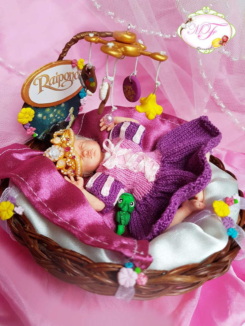 VENTE poupées d'artiste, BJD en polymère faits main -Flora  Raipon10