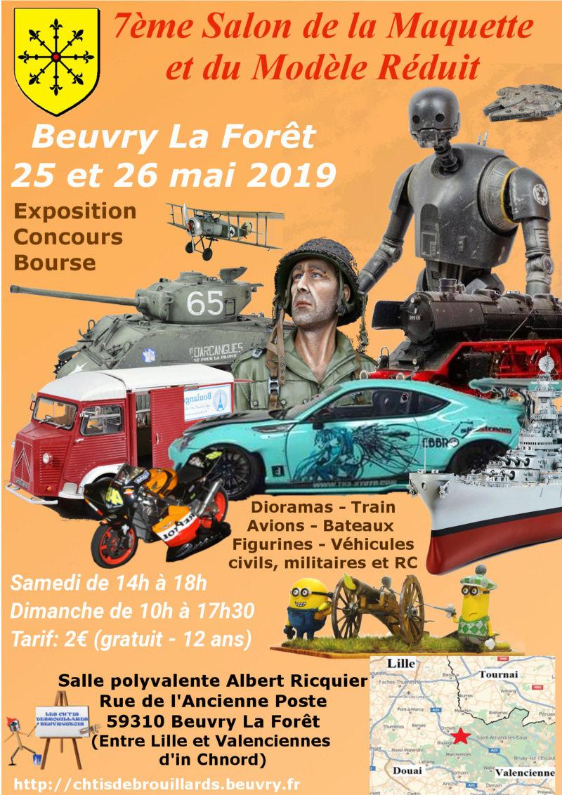 Expo mai 2019 - Entre Valenciennes et Lille Affich12