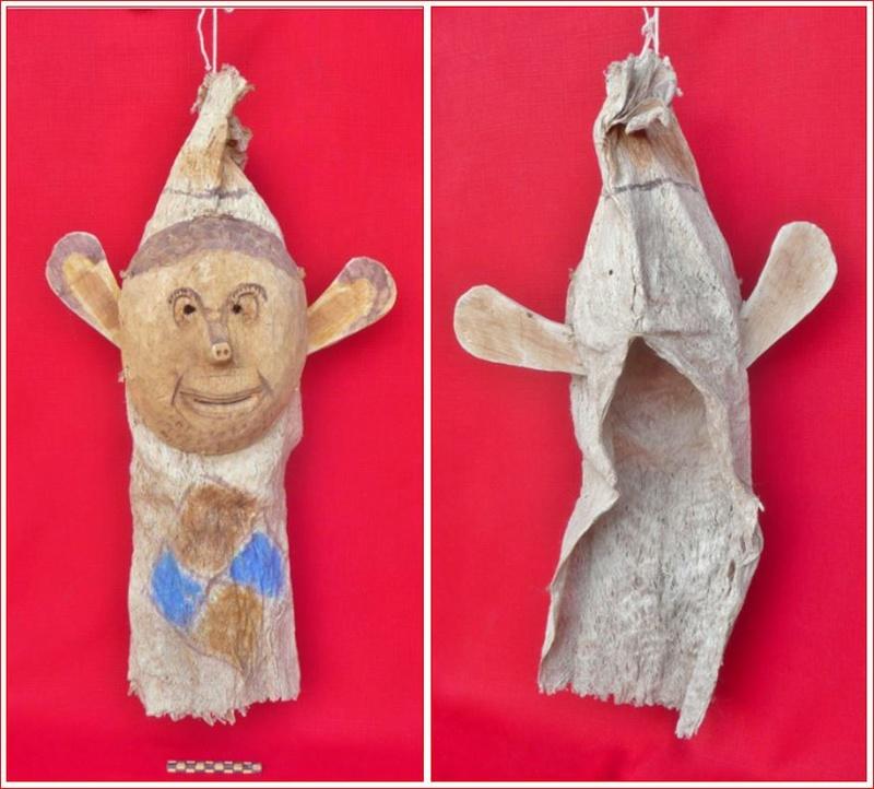 Masque-cagoule / Peuple Ticuna (Haute Amazonie) Masque10