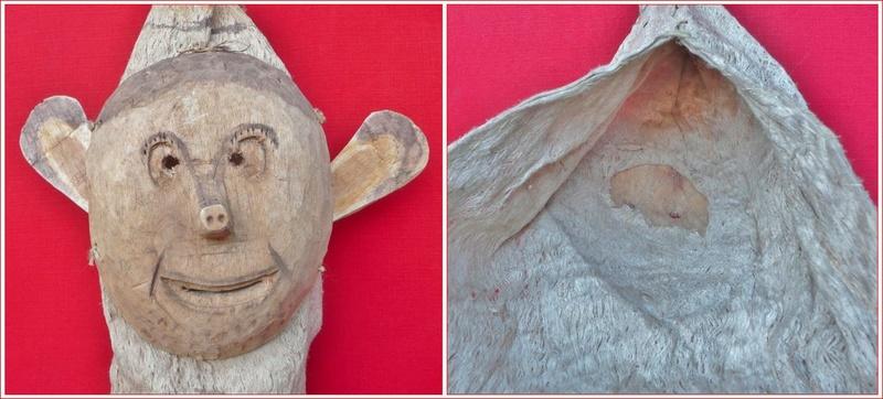 Masque-cagoule / Peuple Ticuna (Haute Amazonie) Masque11
