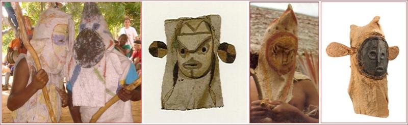 Masque-cagoule / Peuple Ticuna (Haute Amazonie) Masque13