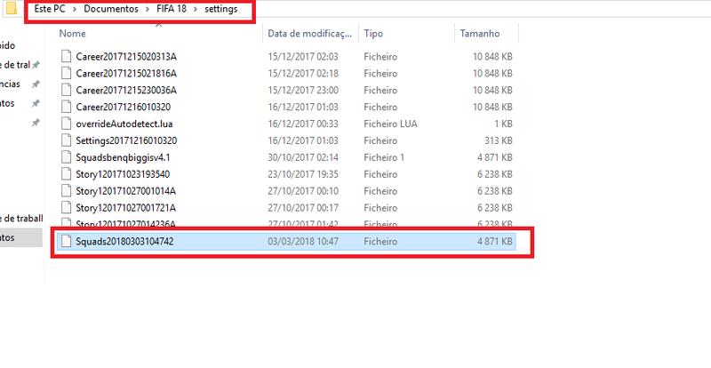 [Tutorial] Instalar transferencias no FIFA 18 110