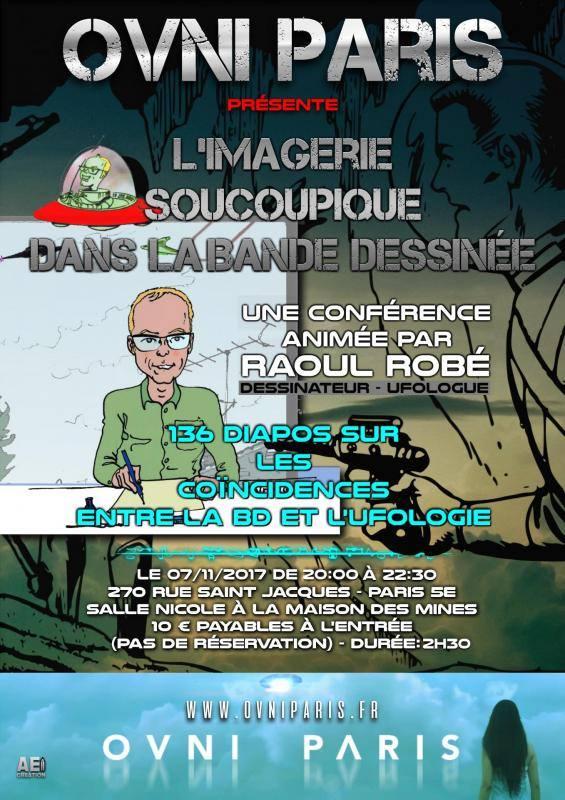 Conférence de Raoul Robé à Ovnis Paris 22728710