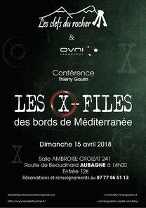 15/04/2018, Conférence : les X-Files des bords de Méditerranée. avec Thierry Gaulin Qycm6412