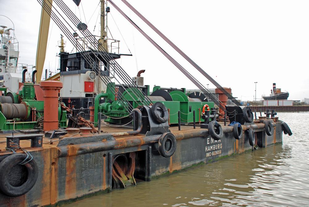 Le ponton grue Enak 11927510