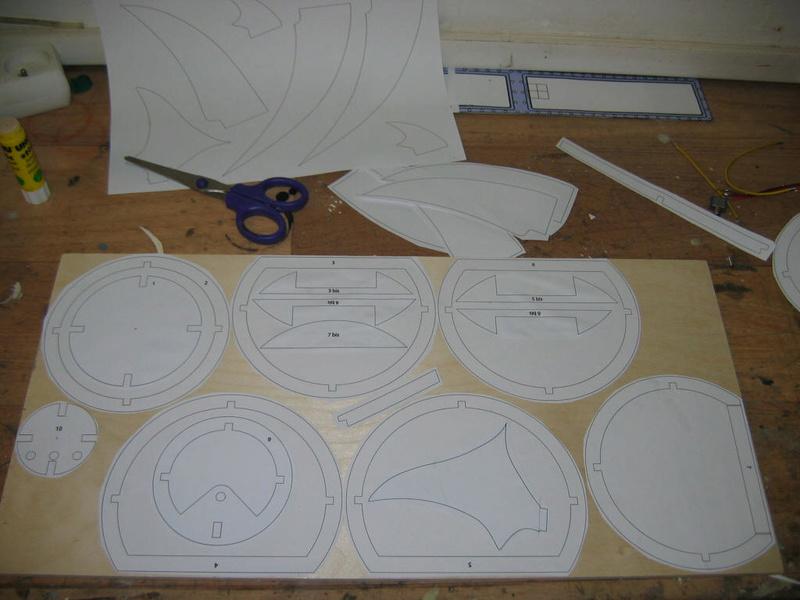 Construction du Requin de Tintin Constr10