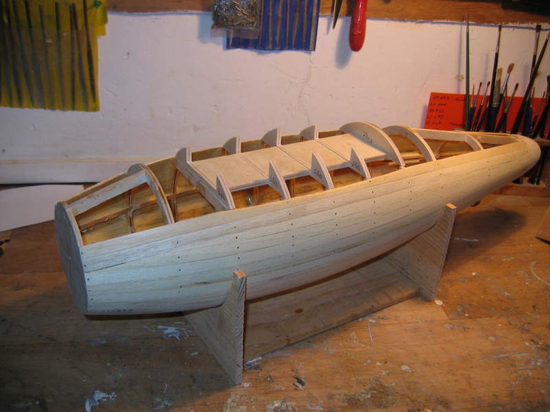 Construction du Requin de Tintin Constr14