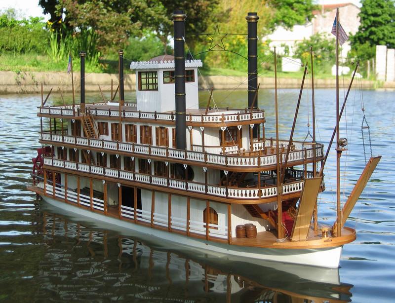 Construction d'un bateau à roue à aubes : le Mississippi 1870 Img_0010
