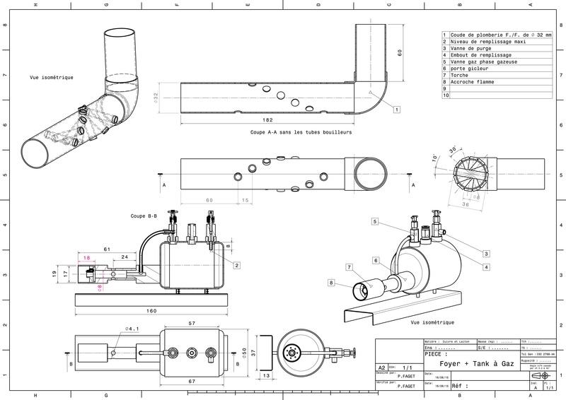 Chaudière et Tank à gaz du Mississippi 1870 Plan_f10