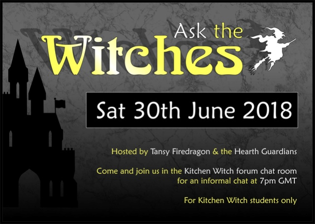 Online chat room - Ask the Witches - Sat 30th June 2018 208_as11