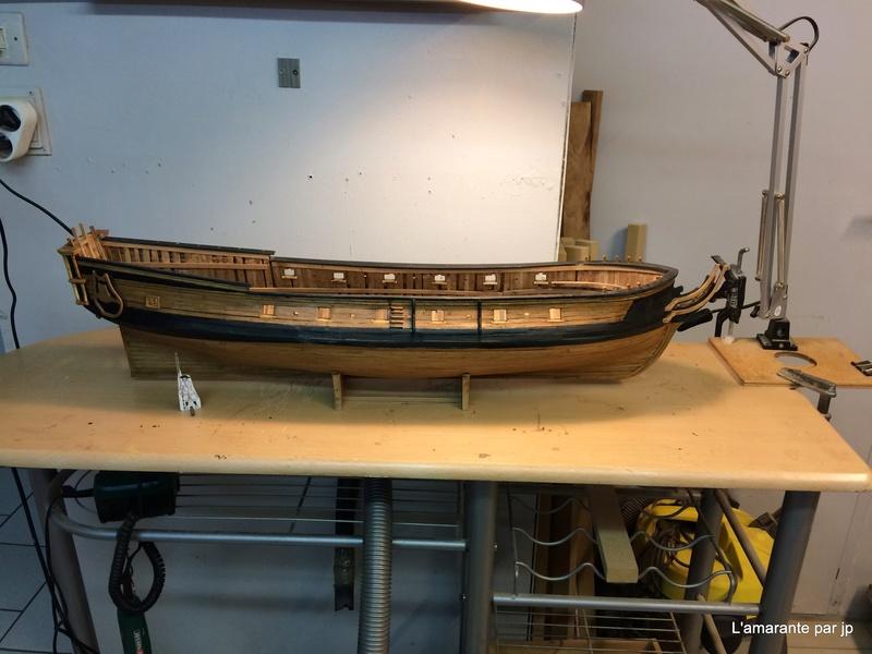 l'amarante corvette de 1747  sur plan de Mr Delacroix  - Page 11 Img_0810