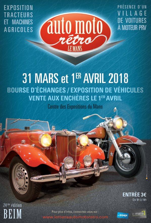 Auto Moto Rétro - Le Mans 2018 2018-040