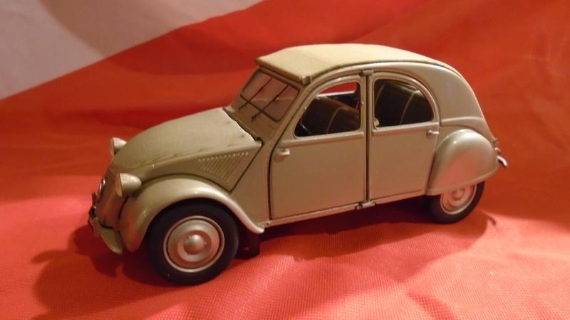 2CV 1951 au 1/24 de Franklin Mint Dsc00410