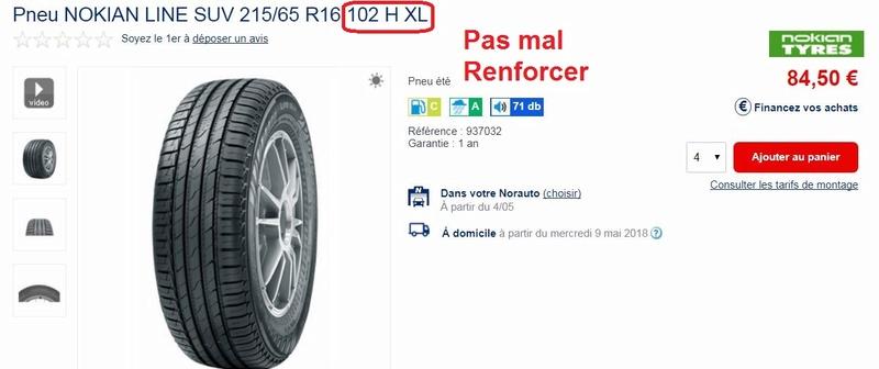 [V6 - 3.3 - 2004] - Les pneus - Avez vous essayé ceux la. Nokian SUV Line? Captu264