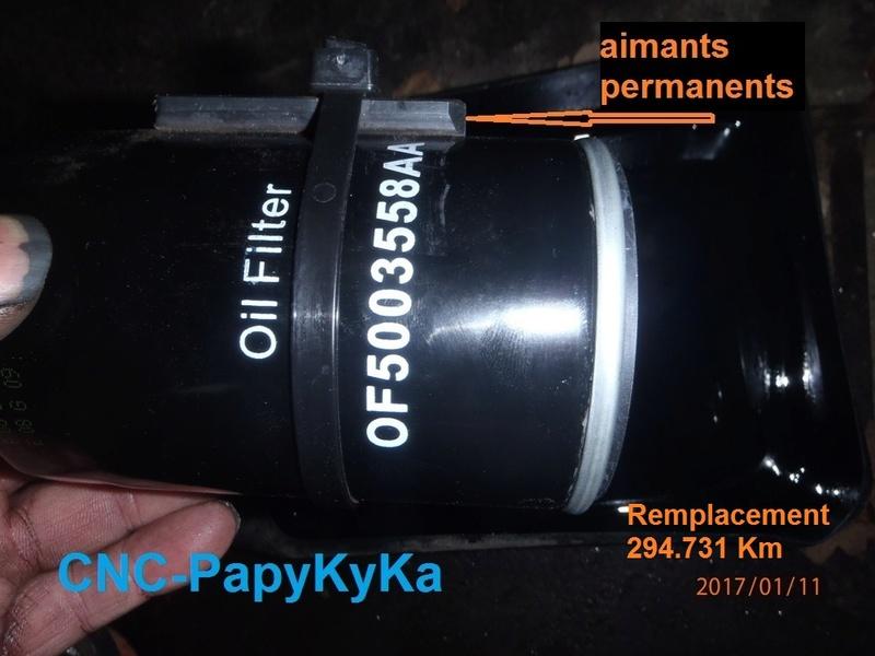 Filtre a huile Piece qui tourne Pas à Gauche ou pas  P1110010