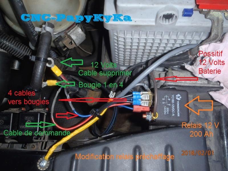 relais préchauffage S4  (trouvé ) P2010010