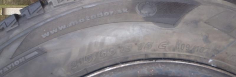 [V6 - 3.3 - 2004] - Les pneus - Avez vous essayé ceux la. Nokian SUV Line? P2170011
