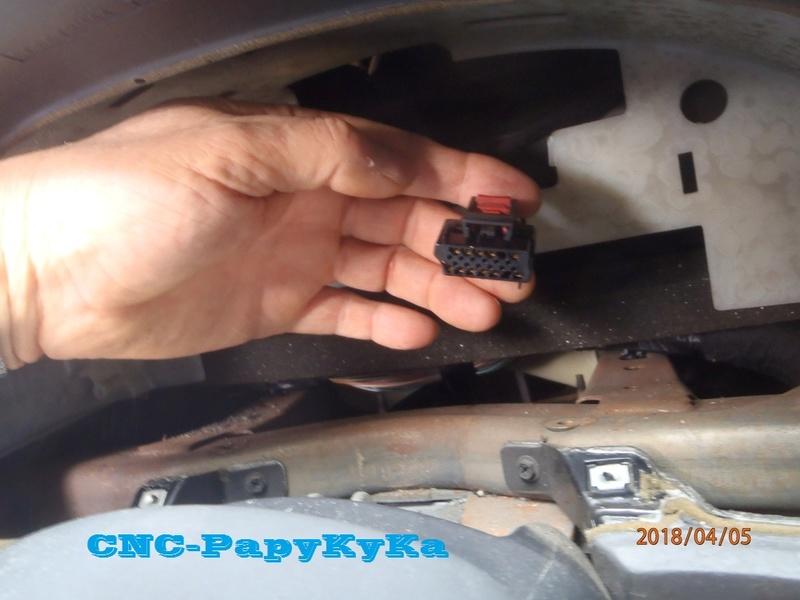 PapyKy, Dépose du Compteur Kilométrique a 308.xxx Km. P4050014