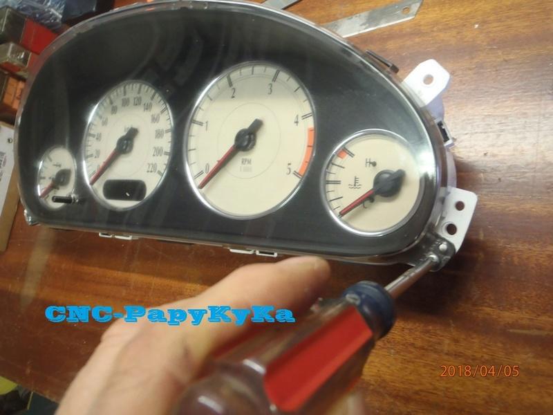 PapyKy, Dépose du Compteur Kilométrique a 308.xxx Km. P4050016