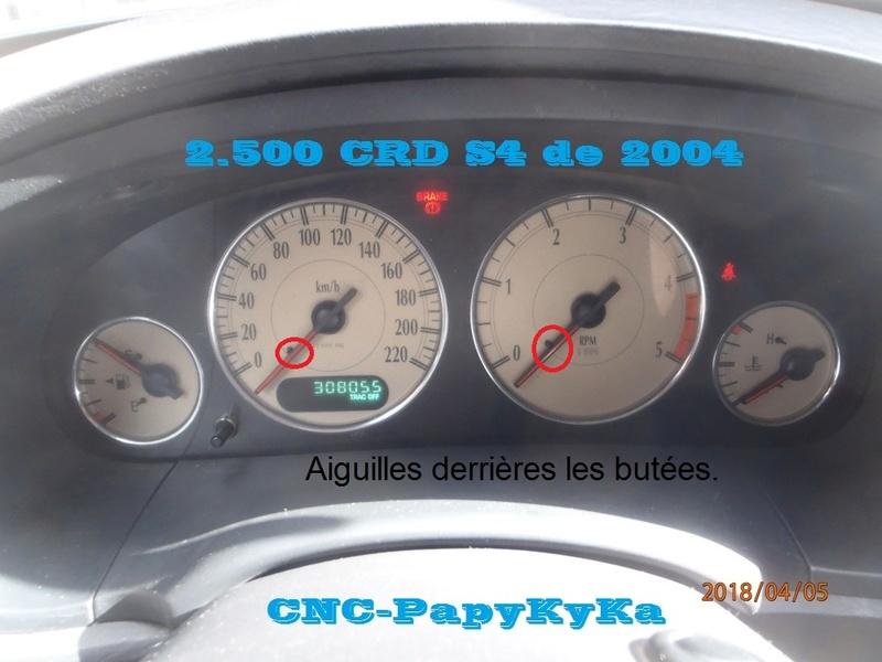 PapyKy, Dépose du Compteur Kilométrique a 308.xxx Km. P4050024