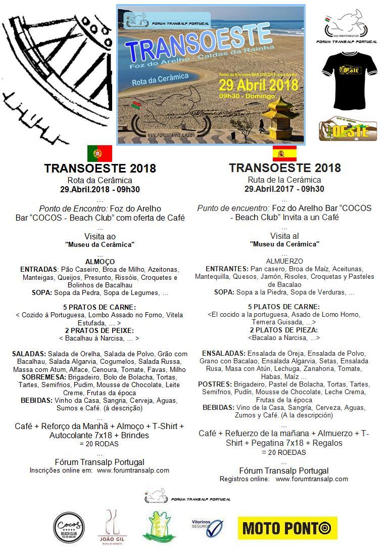 TransOESTE 29 Abril 2018 - Caldas da Rainha Almoyu11